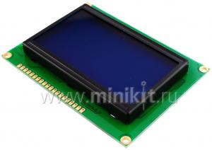 Монохромный LCD дисплей 128х64 пиксела